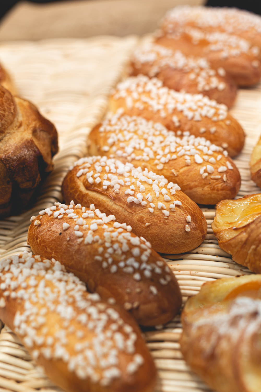 Petits pains et brioches