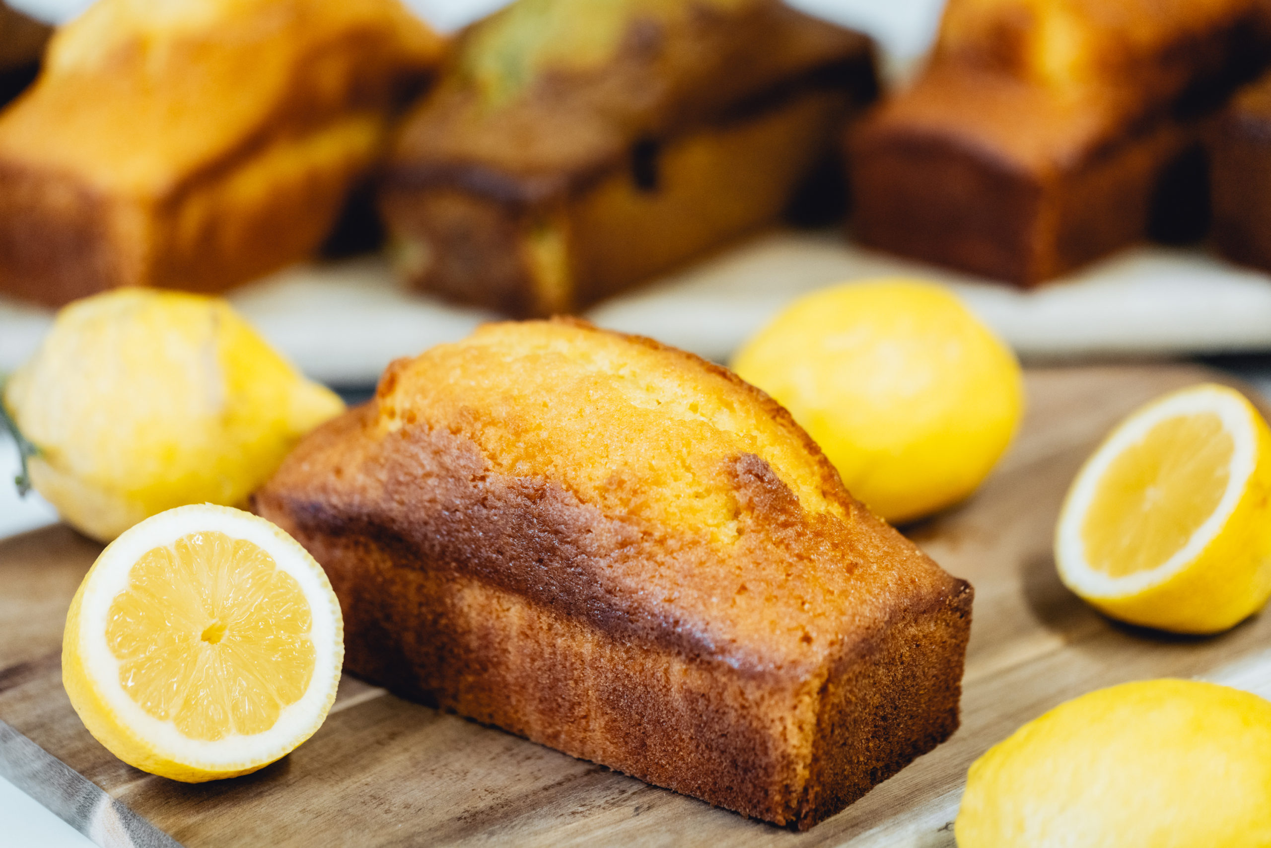 Cakes au goût de l'enfance (citron, pistache-cerise, chocolat...)